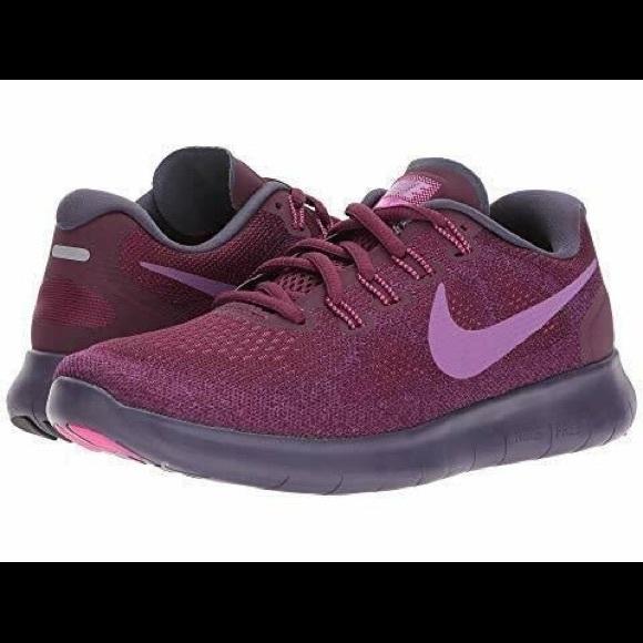 Nike Women's Free RN in Purple Bordeaux